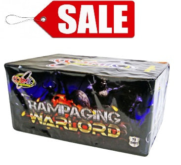 Rampaging Warlord 71 Shot By Cosmic Fireworks - ON SALE!