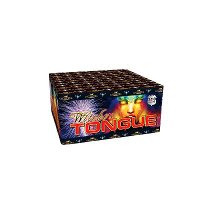 Witche's Tongue 110 Shots by Hallmark Fireworks