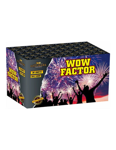 WOW FACTOR 30 Shot By Hallmark Fireworks - BUY 1 GET 1 FREE!