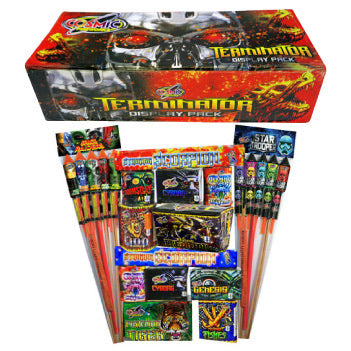 Guy Fawke's Selection Box By Hallmark Fireworks