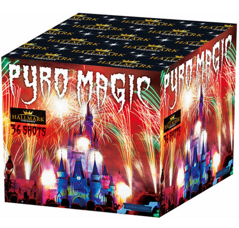 Pyro Magic 36 Shot By Hallmark Fireworks