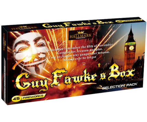 Guy Fawke's Selection Box By Hallmark Fireworks - SALE!