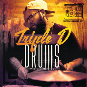 Triple D Drums Vol 1