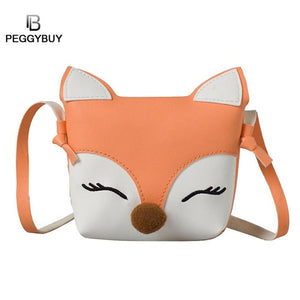 Novelty Kids Girl Cartoon Mini Messenger Bags Lovely Cute Coins Purse
