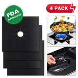Gas Stove Protector ( 4 pcs ) Reusable