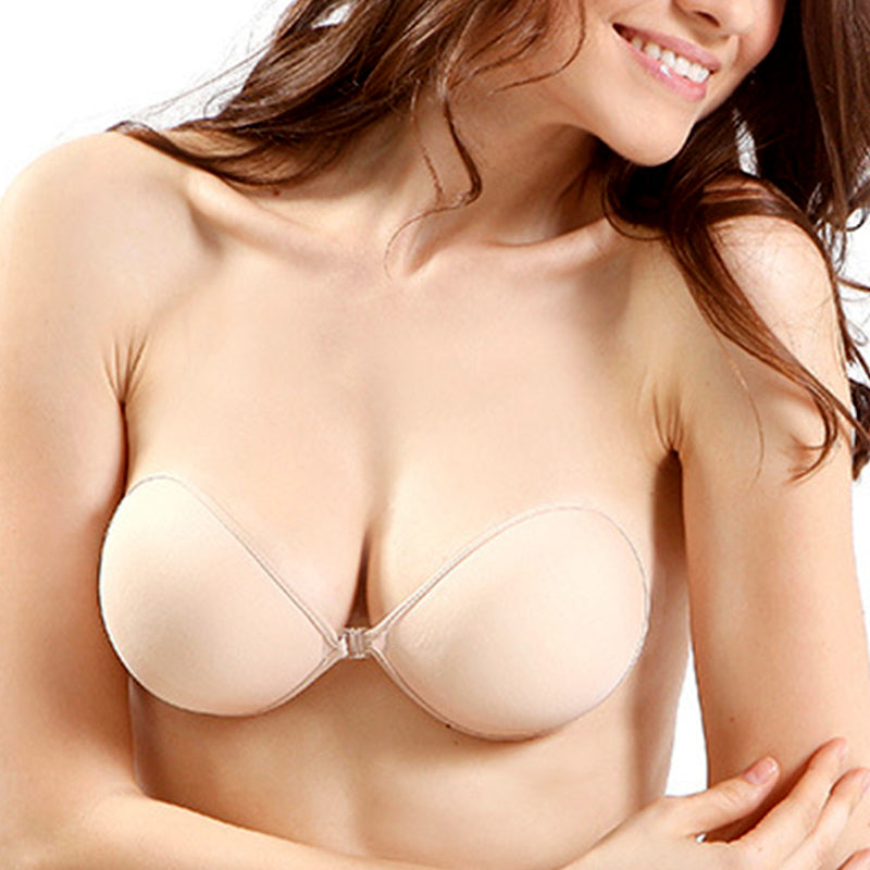 Invisible Backless Adhesive Push Up Bra