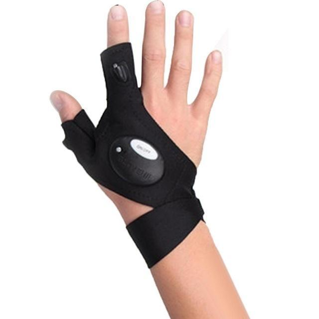 Multi Use Outdoor Powerful Light Glove