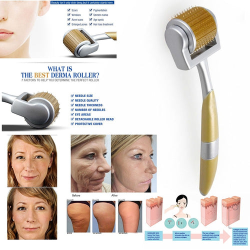 Derma Roller Acne Scar Anti Aging Needles