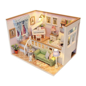 3D Wooden Craft Doll House Furniture Set