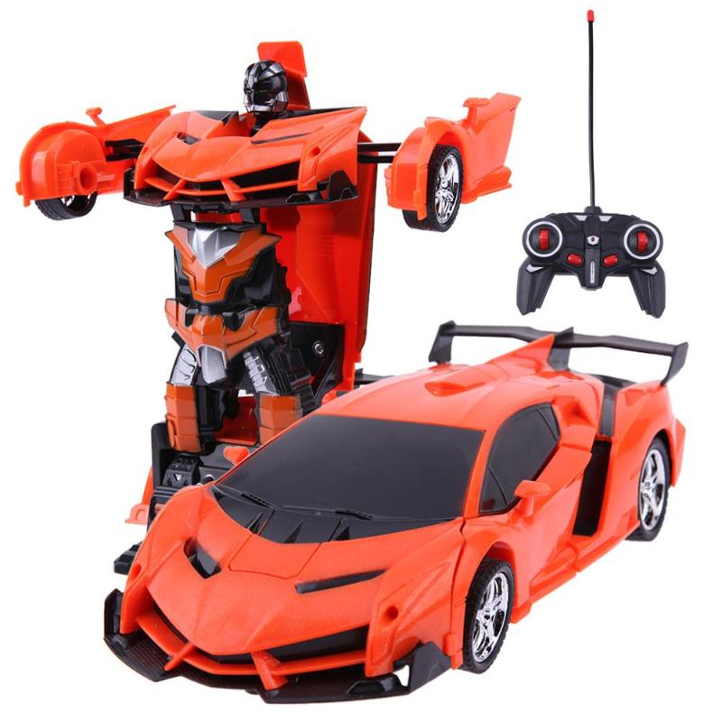 Wireless 2 in 1 Transformation RC Remote Control Car