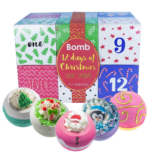 12 Days Of Christmas Gifts.12 Days Of Christmas Advent Calendar Gift Pack Sale 12 Bath Bombs For 27 25