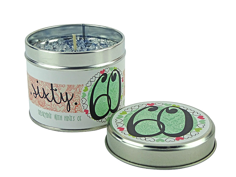 Tracey Russell Occasion Candle- 60th