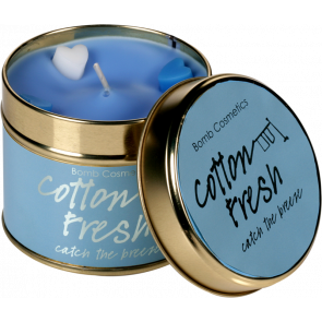 Cotton Fresh Tin Candle