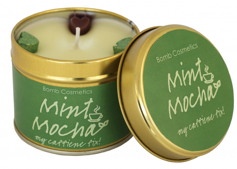 Mint Mocha Tin Candle