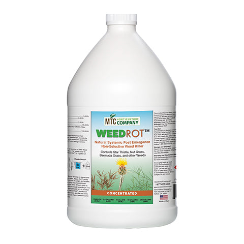 WEED ROT- Natural Systemic Weed Killer (1 gal)
