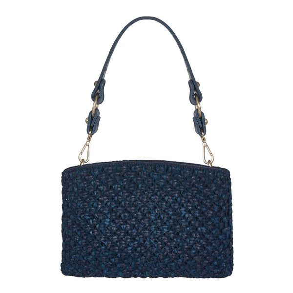Naia Day Shoulder Bag and Clutch Blue