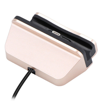 Type C Charger Dock USB 3.1 C Charging Station Stand Base Desktop Charger Dock Station for Samsung Galaxy S6 A3 A5 HTC Xiaomi