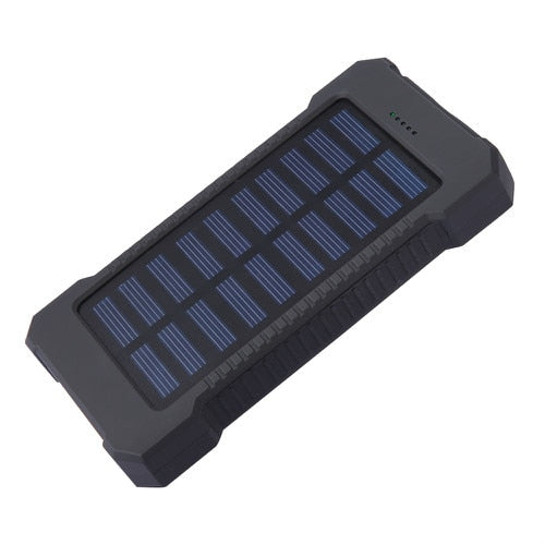 10000mAh Portable Solar Power Bank Charger Dual USB Power Bank For iPhone 6 6S 7 Plus 8 Samsung Extend Battery PowerBank
