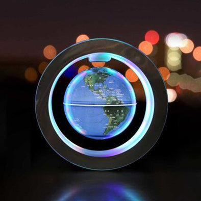 Rotation 3D Levitation Magnetic Suspension Globe Table Atmosphere Lamp Night Light Home Decoration Birthday Gift Dropshipping