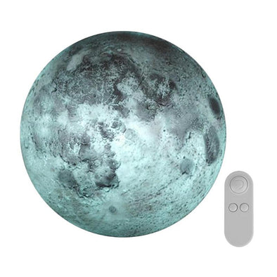 Indoor ABS 6 Kinds Phase of the Moon LED Wall Moon Lamp With Remote Control Relaxing Healing Moon Christmas Night Light for Kids