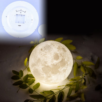 2018 Indoor 6 Kinds Phase of LED Wall Moon Lamp With Remote Control Healing Moon Wall Ceiling Lamp Wall Hanging Lamp for Kids
