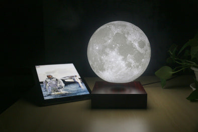 Levitating Moon Lamp Magnetic Floating LED Night Light