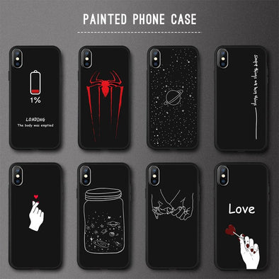 Animal Love Heart Soft TPU Silicone Cases
