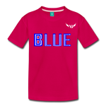 Amibre™ Blue Kids' Premium T-Shirt - dark pink