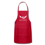 Amibre™ Adjustable Apron - red