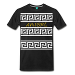 Amibre™ Maze Men's Premium T-Shirt - black