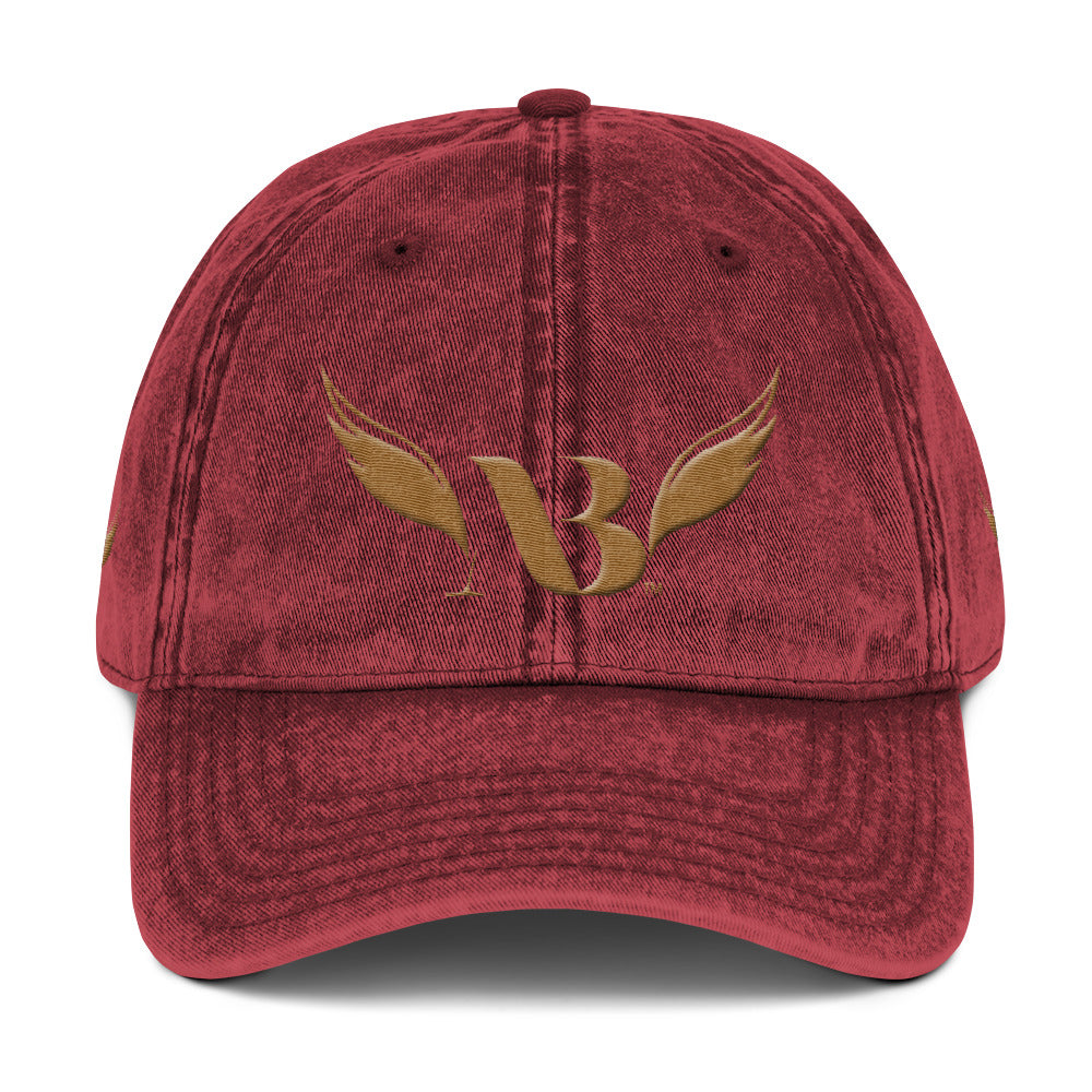 Amibre™ Embroidery Vintage Cotton Twill Hat