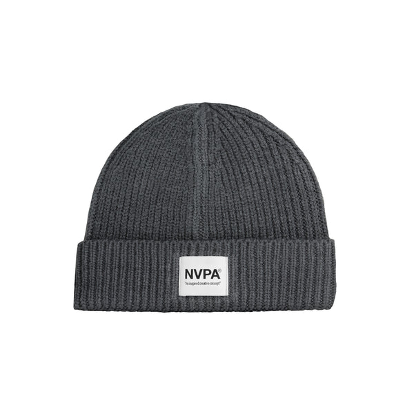 NVPA® Charcoal patch beanie