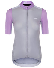 Pro Fit Aero Jersey Grey/ Lilac Women