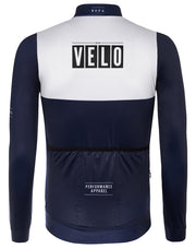 Girona Long Sleeve Jersey Navy