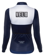 Girona Long Sleeve Jersey Navy Women
