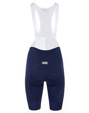 Pro Fit Bib Shorts Navy/White Women