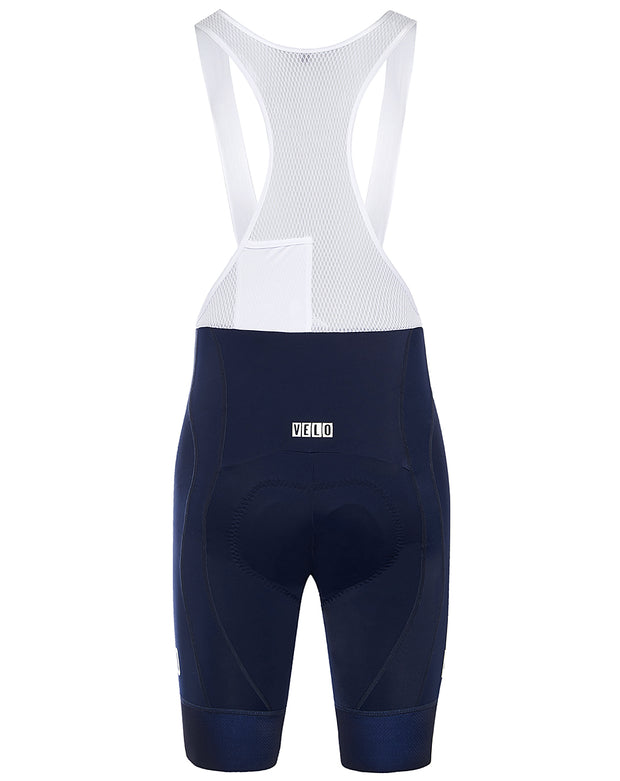 Pro Fit Bib Shorts Navy/White