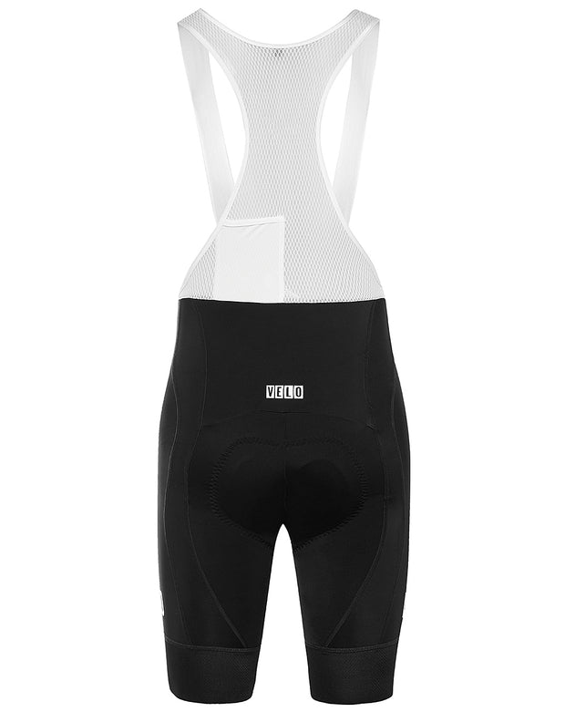 Pro Fit Bib Shorts Black/White