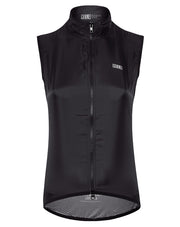 Lightweight Mesh Gilet Black Women