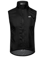 Lightweight Mesh Gilet Black