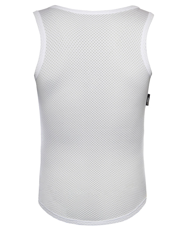 Base Layer Vest White Unisex