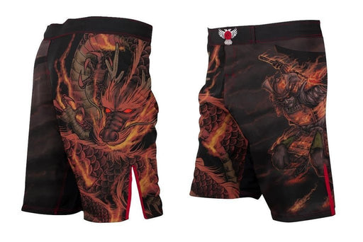 Shorts de Combat - Raven Elements Fire