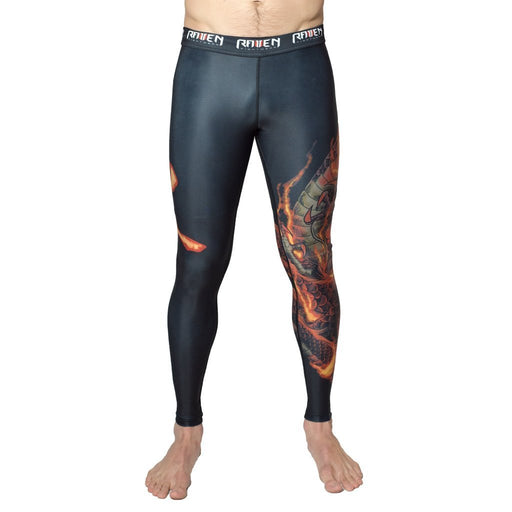 Pantalons de compression - Raven Elements Fire