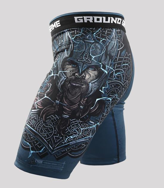 Right side view of a Ground Game Thor Vale Tudo Shorts