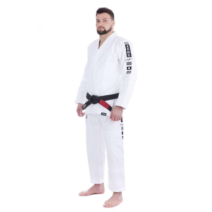 Tatami Signature BJJ Gi white front side left