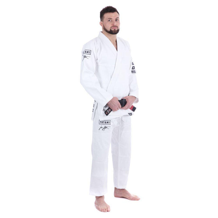 Tatami Signature BJJ Gi white front side right