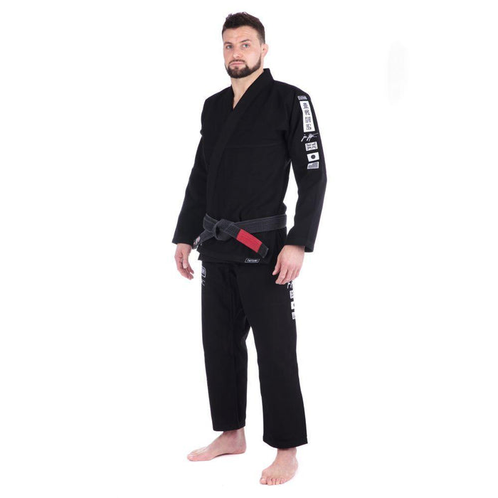 Tatami Signature BJJ Gi black front side left