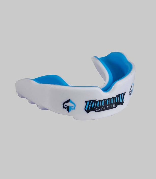Ground Game Knockout Game Mouth Guard White