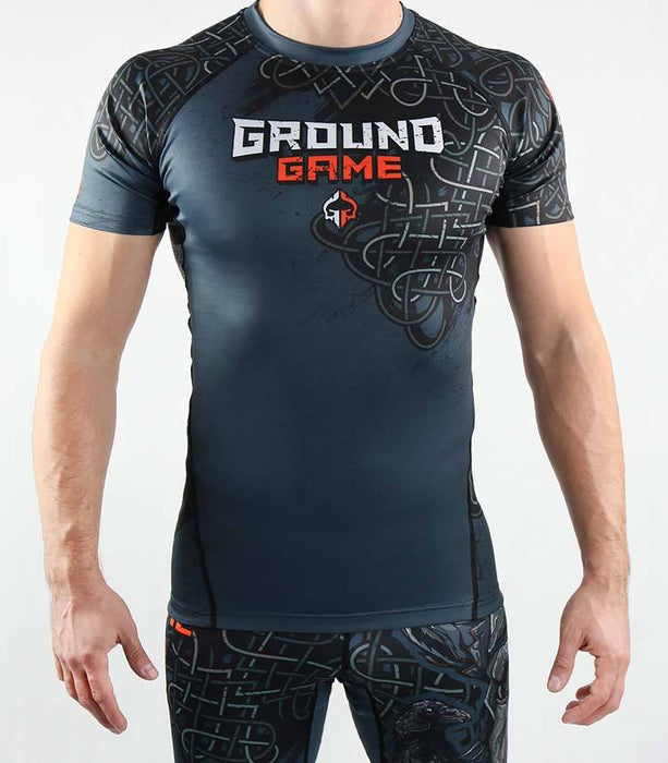 Rashguard Manche Courte - Ground Game Odin