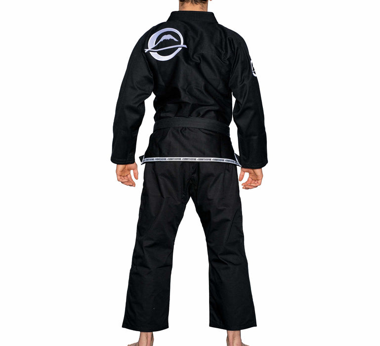 fuji submit everyone bjj gi noir back